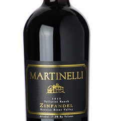 Martinelli 2014 Zinfandel Jackass Vineyard