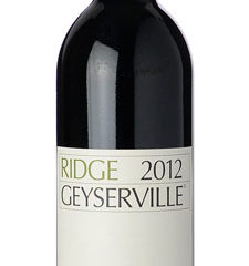 Ridge Vineyards 2012 Geyserville