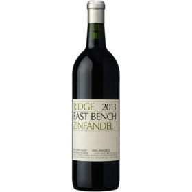 Ridge Vineyards 2013 Zinfandel East Bench