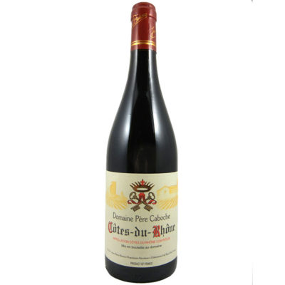 Domaine Pere Caboche 2015 Cotes du Rhone Red