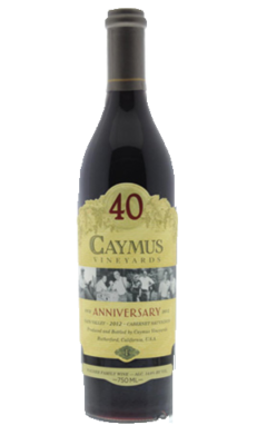 caymus 40th