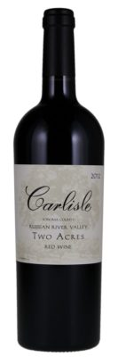 Carlisle 2012 Two Acres Red Blend