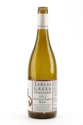 [McKoy, Kirk -- B582150321Z.1 LOS ANGELES, CA., 5 JUNE, 2012--WOW (wine of the week) 2011 Tablas Creek Vineyard Blanc. (KIRK MCKOY / LOS ANGELES TIMES)] *** []