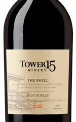 Tower 15 The Swell 2012 Red Blend