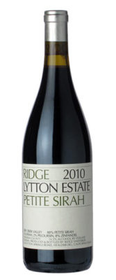 Ridge 2014 Petite Sirah Lytton Estate