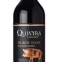 Quivira 2014 Black Boar Zinfandel