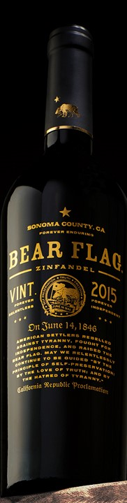 637ef38018 Bear Flag 2015 Zinfandel