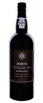Ramos Pinto 1983 Vintage Port