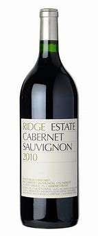 Ridge Vineyards 2015 Estate Cabernet Sauvignon